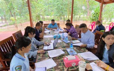 วันที่ 18 กันยายน 2563 ส่วนจัดการต้นน้ำ สบอ.9  จัดประชุมสัญจร ครั้งที่ 4/2563 ณ หน่วยจัดการต้นน้ำห้วยโตง - ห้วยด่าน โดย หน.หน่วยจัดการต้นน้ำทุกหน่วย หน. ศูนย์แฝกฯ และเจ้าหน้าที่ส่วนจัดการต้นน้ำเข้าร่วมประชุม