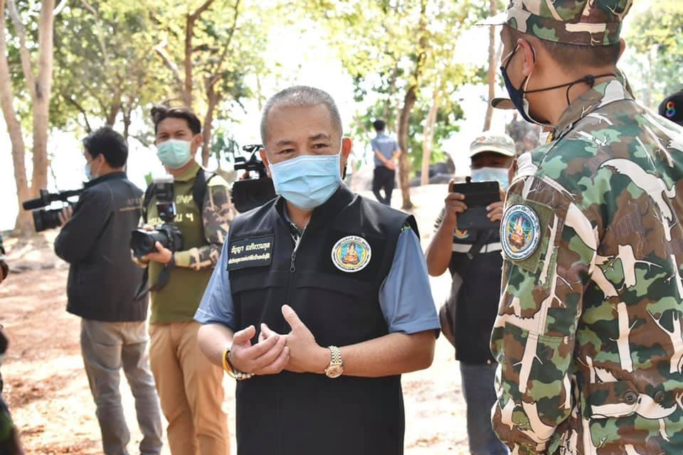 วันที่ 21 มกราคม 2564 นายมงกุฎ ขวาของ ผู้อำนวยการส่วนจัดการต้นน้ำพร้อมร่วมตรวจติดตามราชการ ของ นายธัญญา เนติธรรมกุล อธิบดีกรมอุทยานแห่งชาติ สัตว์ป่า และพันธุ์พืช